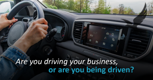 Driving or Driven.